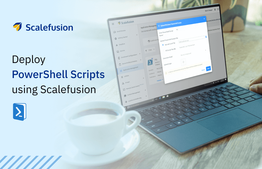 Deployment of PS scripts with SF