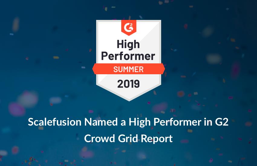 High performer summer 2019