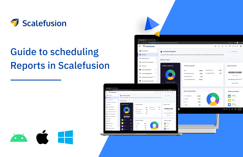 How to Schedule Reports with Scalefusion
