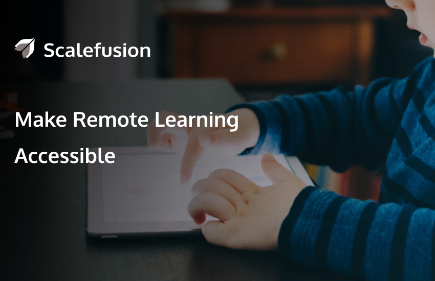 MDM for Remote Learning and Distance Education