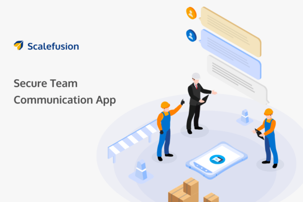 Secure Team Communication App