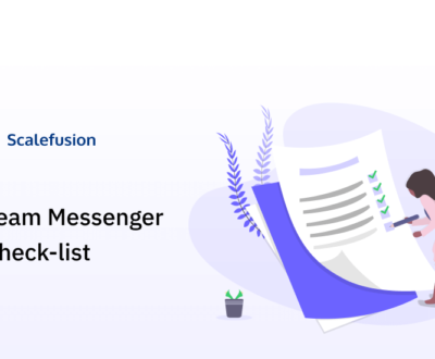 team messenger checklist