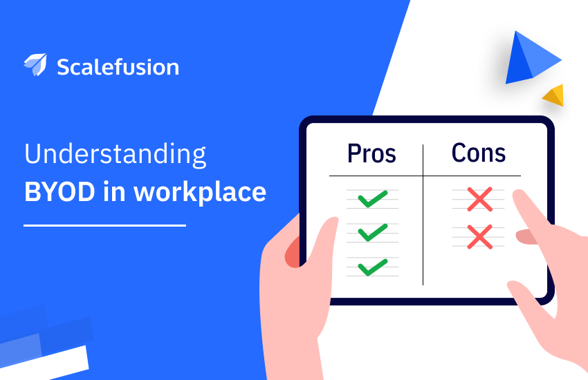 Bring-Your-Own-Device - Pros and Cons in the workplace