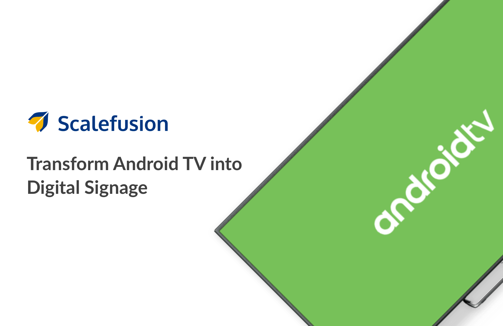 Push content to Android TV