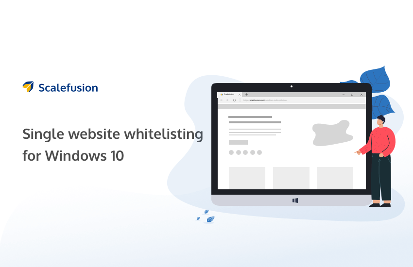 Allow Only One Website in Windows 10