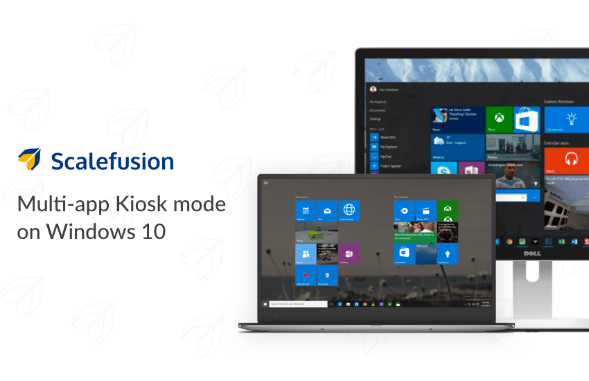 Lockdown Windows 10 Devices in Multi-App Kiosk Mode
